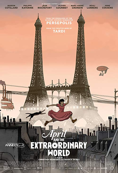 دانلود فیلم April and the Extraordinary World 2015