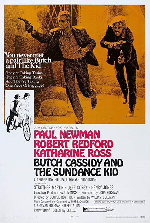 دانلود فیلم Butch Cassidy and the Sundance Kid 1969 (بوچ کاسدی و بچه‌ی ساندنس)